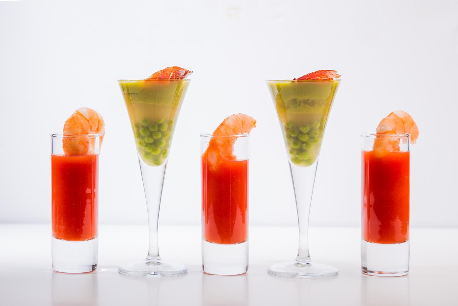Cocktail de bodas, Hotel Jaizkibel de Hondarribia