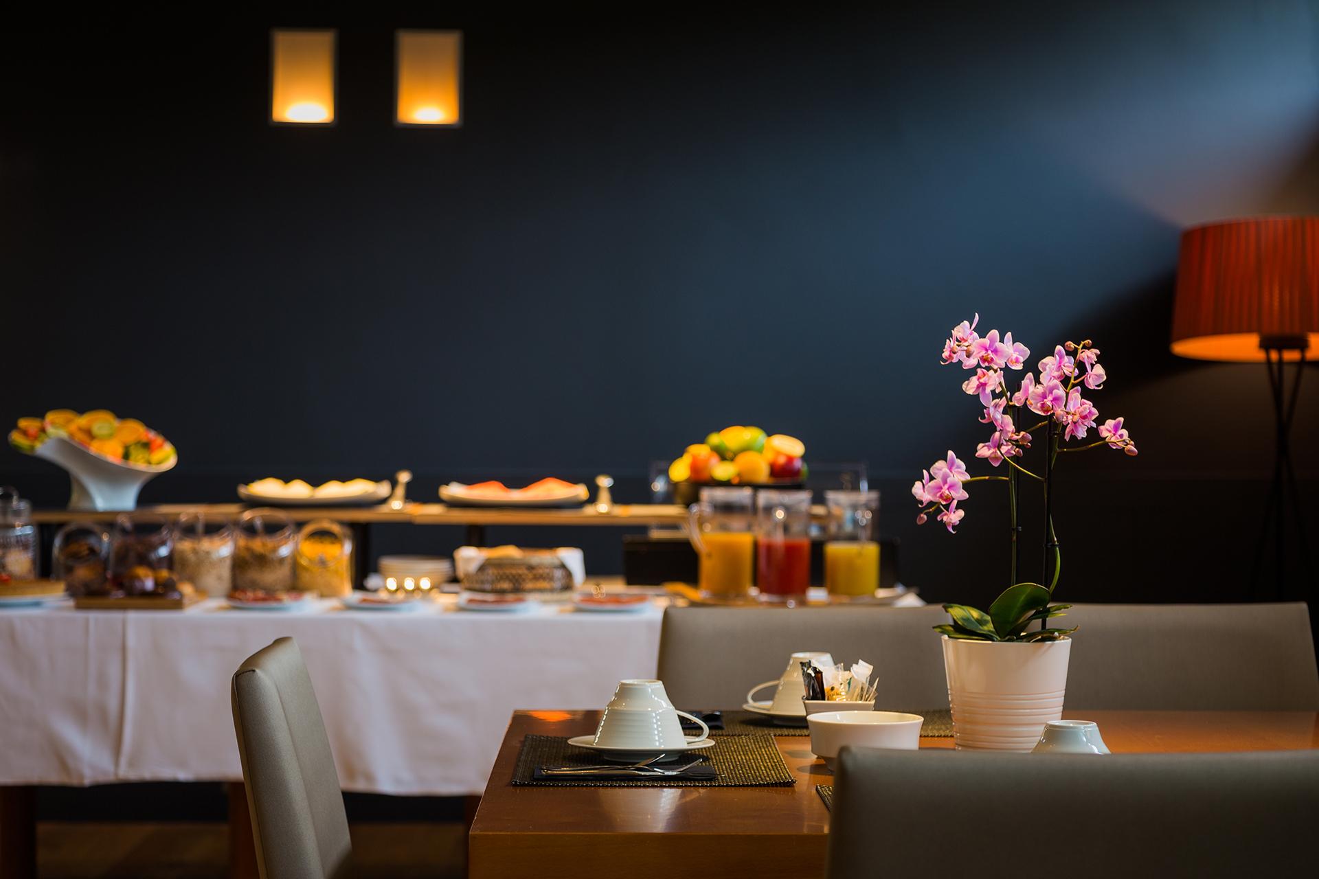 Desayuno buffet, Hotel Jaizkibel de Hondarribia