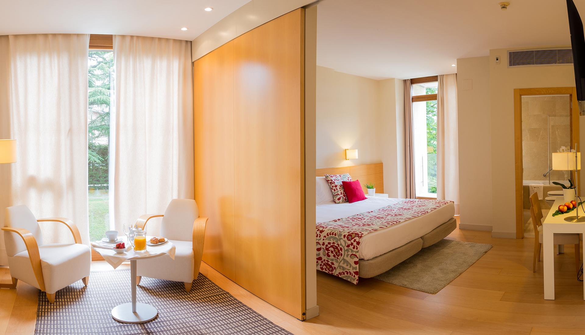 Habitación, Hotel Jaizkibel de Hondarribia