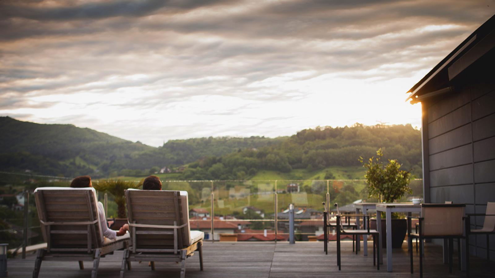Solarium, Hotel Jaizkibel de Hondarribia